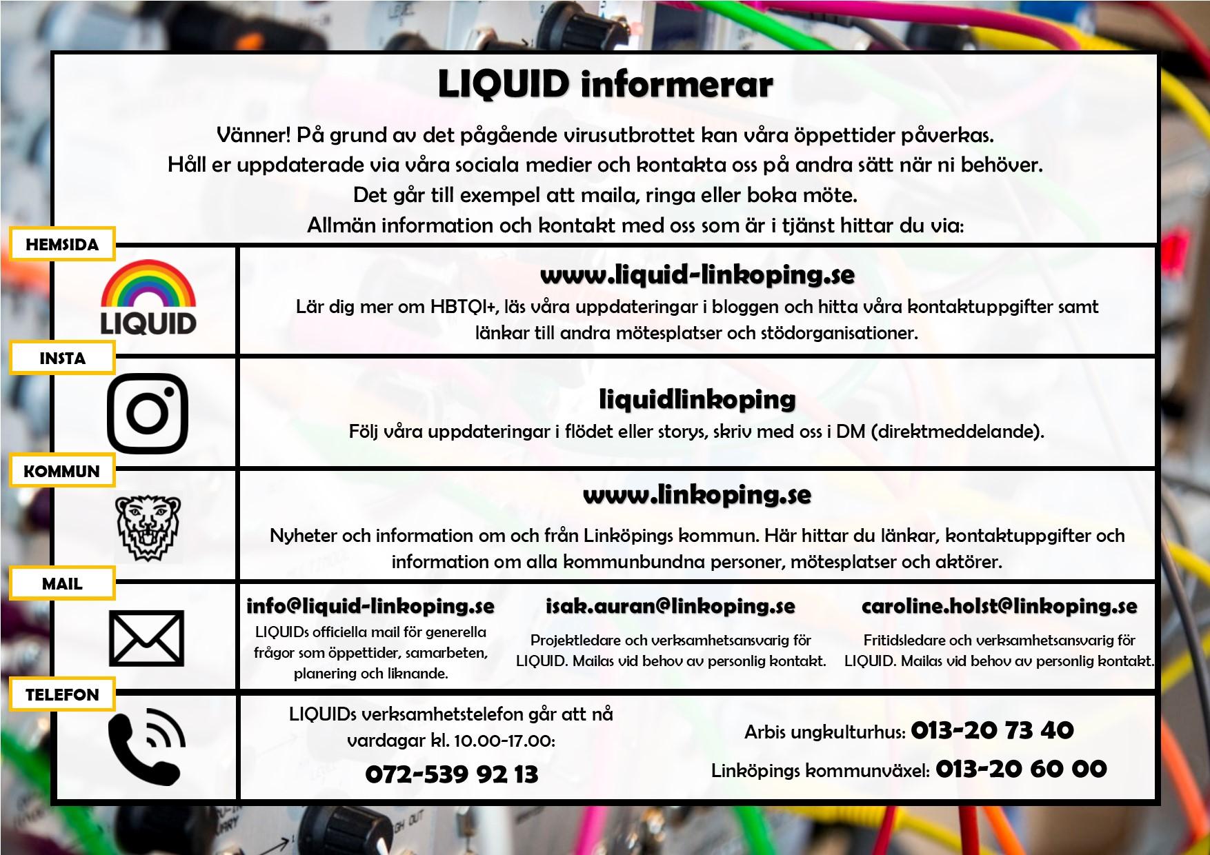 LIQUID-INFORMERAR